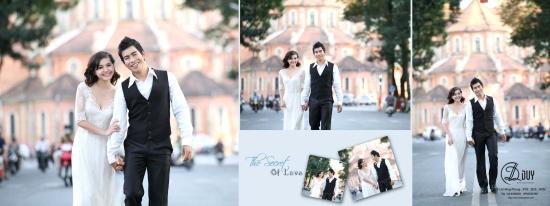 chụp hình cưới ngoại cảnh phố xuân Tp Hồ Chí Minh