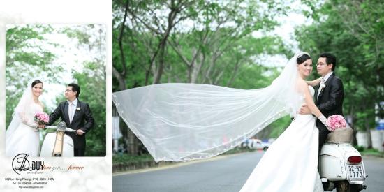 Xu hướng chụp hình cưới ngoại cảnh tphcm
